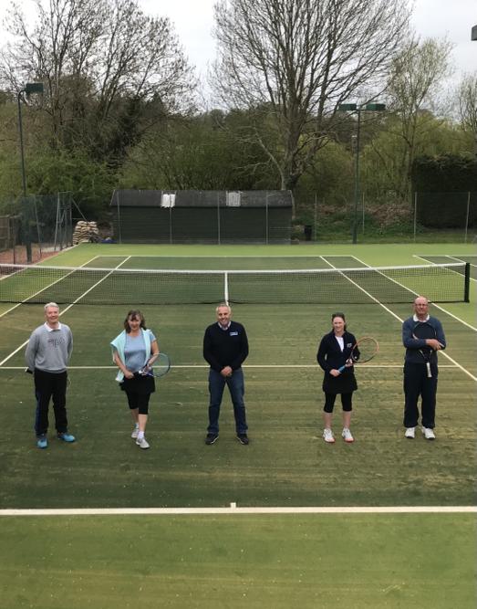 Bewdley Tennis Club unveils extensive court improvements